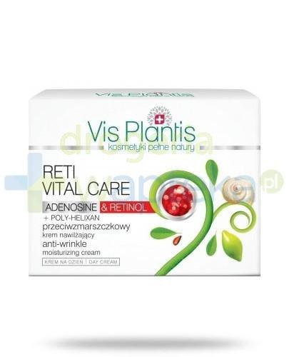 Vis Plantis Reti Vital Care Krem przeciwzmarszczkowy nawilżający na dzień z retinolem i adenozyną 50 ml Elfa Pharm