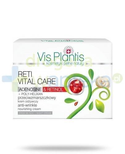 Vis Plantis Reti Vital Care Krem przeciwzmarszczkowy odżywczy na noc z retinolem i adenozyną 50 ml Elfa Pharm