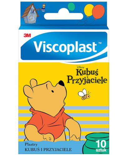 Viscoplast Kubuś i przyjaciele plastry dla dzieci 10 sztuk