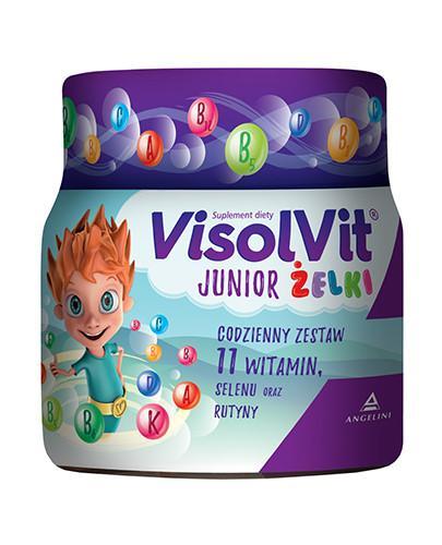Visolvit Junior żelki dla dzieci powyżej 3 roku życia 50 sztuk