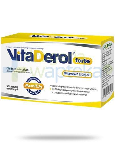 VitaDerol Forte witamina D 1500j.m. 30 kapsułek