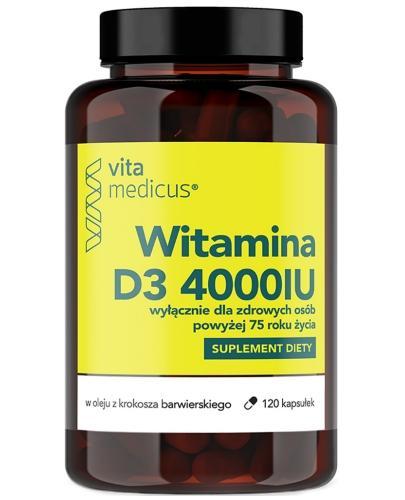 VitaMedicus witamina D3 4000UI 120 kapsułek