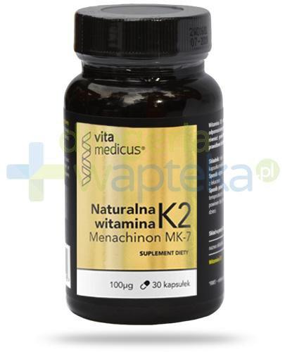 VitaMedicus witamina K2 MK-7 30 kapsułek   whited-out
