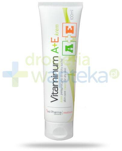 Vitaminum A+ E pielęgnacyjny krem do rąk i stóp skóra sucha 100 ml RedPharma