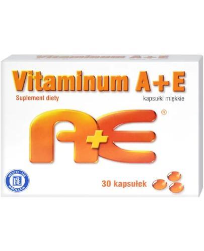 Vitaminum A+E 30 kapsułek Hasco