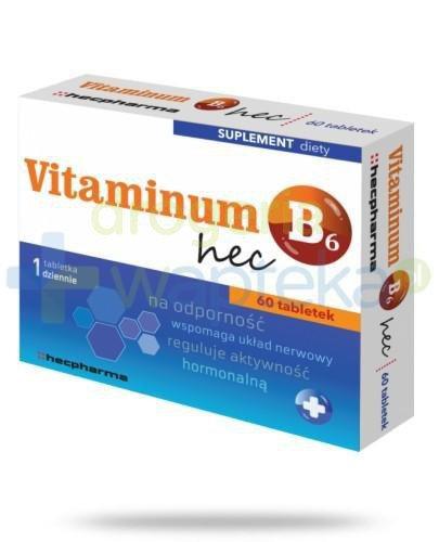 Vitaminum B6 hec 60 tabletek