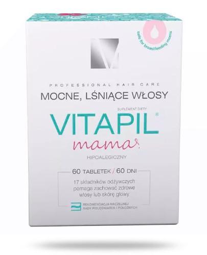 Vitapil Mama Mocne, lśniące włosy 60 tabletek