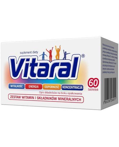 Vitaral zestaw witamin i minerałów 60 tabletek