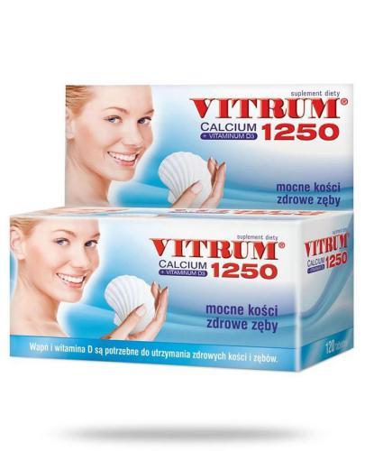 Vitrum Calcium 1250 + Vitaminum D3 120 tabletek