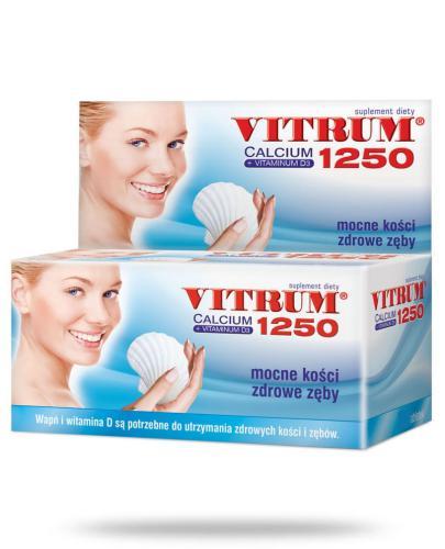 Vitrum Calcium 1250 + Vitaminum D3 60 tabletek