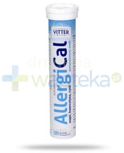 Vitter AllergiCal wapń kwarcetyna cynk 20tabletek