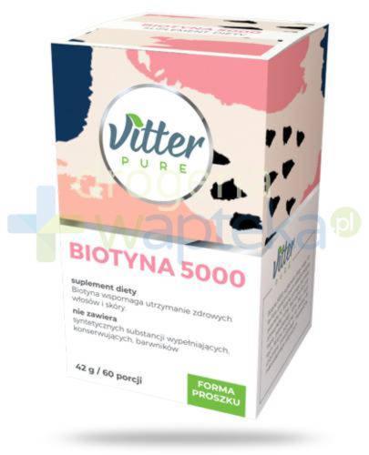 Vitter Pure Biotyna 5000, proszek 42 g