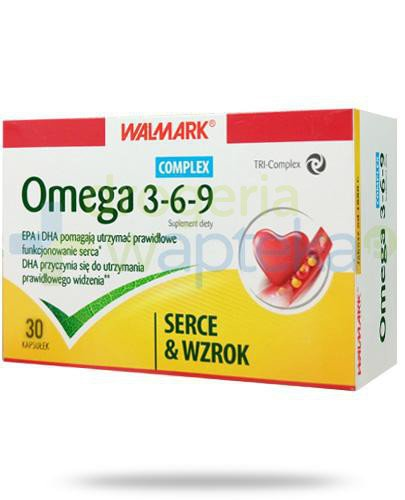 Walmark Omega 3-6-9 Complex Serce i wzrok 30 kapsułek