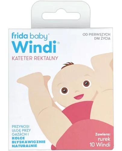 Windi kateter rektalny dla niemowląt na gazy i kolkę 10 sztuk