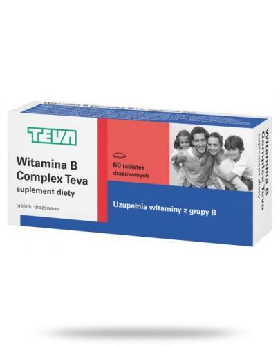 Witamina B Complex 60 tabletek drażowanych TEVA