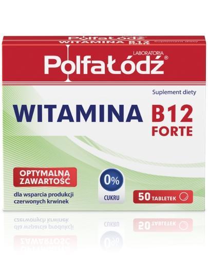 Witamina B12 Forte Laboratoria Polfa Łódź 50 tabletek