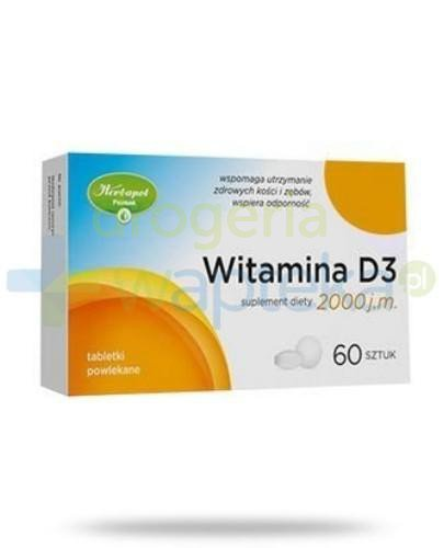 Witamina D3 2000 j.m. 60 tabletek Herbapol