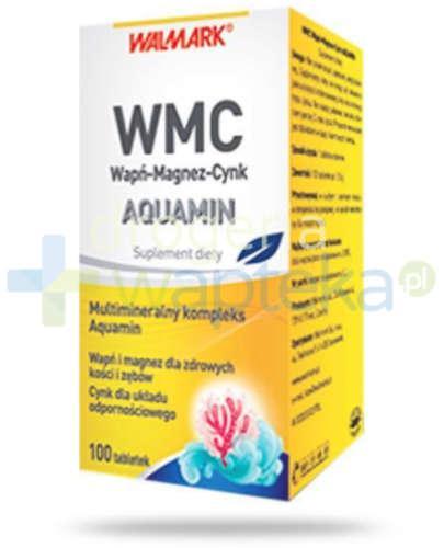 WMC Wapń-Magnez-Cynk Aquamin 100 tabletek