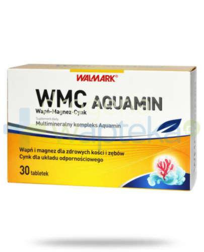 WMC Wapń-Magnez-Cynk AQUAMIN 30 tabletek