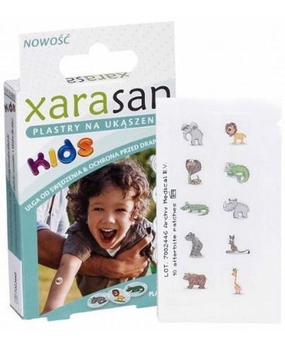 XeraSan Kids plastry na ukąszenia 30 plastrów