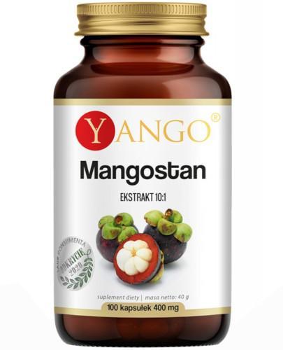 Yango Mangostan ekstrakt 10:1 100 kapsułek