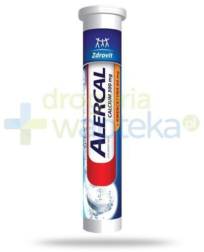 Zdrovit Alercal Calcium 300mg + kwercetyna Complex 20 tabletek musujących