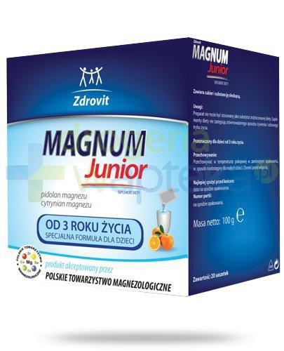 Zdrovit Magnum Junior 20 saszetek