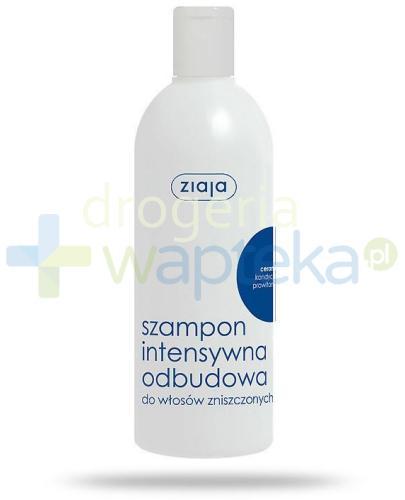 Ziaja Ceramidy intensywna odbudowa szampon 400 ml