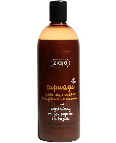 Ziaja Cupuacu krystaliczne mydło pod prysznic i do kąpieli 500 ml