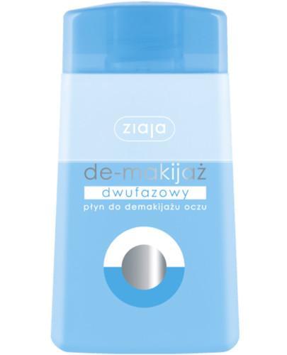 Ziaja De-makijaż dwufazowy płyn do demakijażu oczu 120 ml