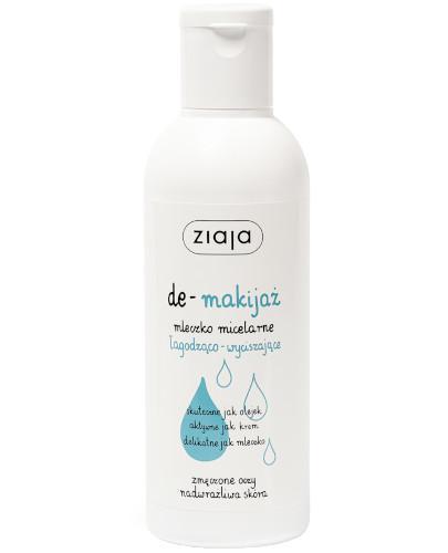 Ziaja De-makijaż mleczko micelarne łagodząco-wyciszające 200 ml