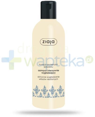 Ziaja Intensywne Wygładzanie szampon jedwab 400 ml