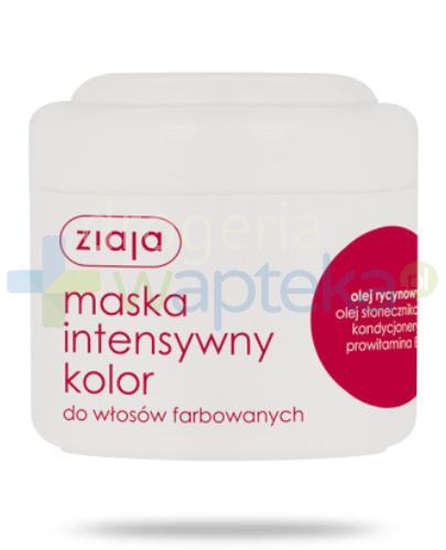 Ziaja Intensywny Kolor maska do włosów farbowanych 200 ml