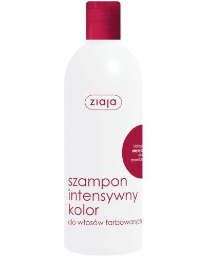 Ziaja Intensywny Kolor szampon olej rycynowy 400 ml