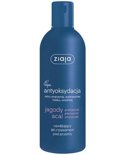 Ziaja Jagody Acai żel z balsamem pod prysznic i do kąpieli 300 ml