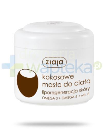 Ziaja Kokosowa Terapia Zmysłów masło do ciała 200 ml