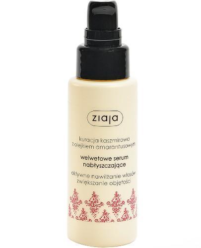 Ziaja Kuracja kaszmirowa z olejkiem amarantusowym serum welwetowe nabłyszczające włos...