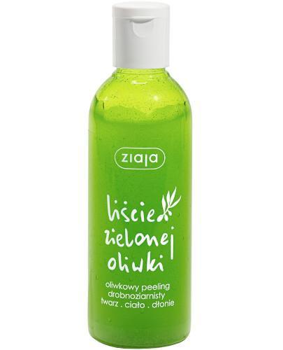 Ziaja Liście Zielonej Oliwki oliwkowy peeling drobnoziarnisty 200 ml