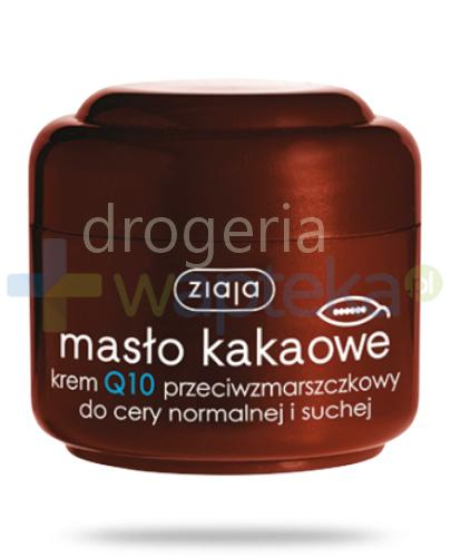Ziaja Masło Kakaowe krem Q10 przeciwzmarszczkowy 50 ml