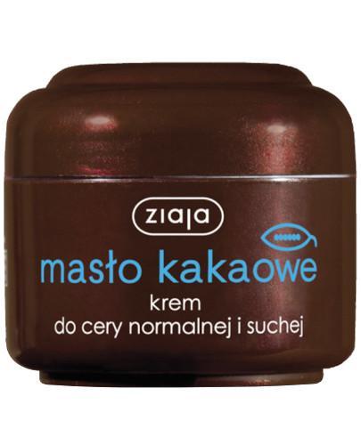 Ziaja Masło Kakaowe odżywczy krem do pielęgnacji twarzy 50 ml