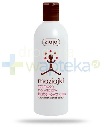 Ziaja Maziajki szampon do włosów bąbelkowa cola 300 ml