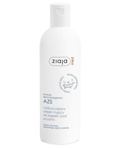 Ziaja Med AZS natłuszczający olejek myjący do kąpieli i pod prysznic 270 ml