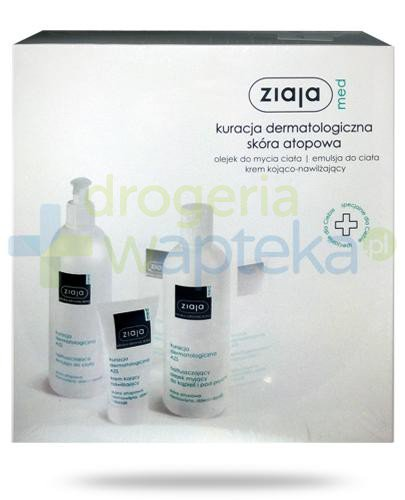 Ziaja Med Kuracja dermatologiczna skóra atopowa [ZESTAW]  whited-out