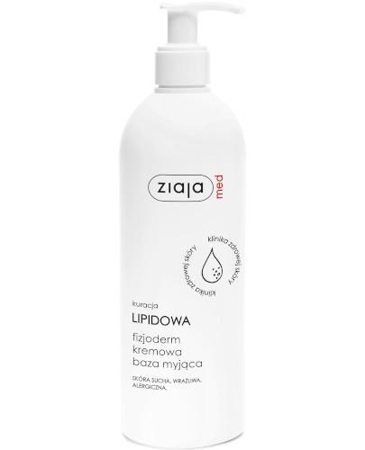 Ziaja Med Kuracja Lipidowa fizjoderm kremowa baza myjąca 400 ml
