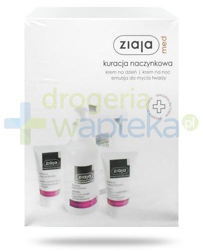 Ziaja Med Kuracja Naczynkowa krem na dzień SPF20 50 ml + emulsja 200 ml + krem na noc 50 ...  whited-out