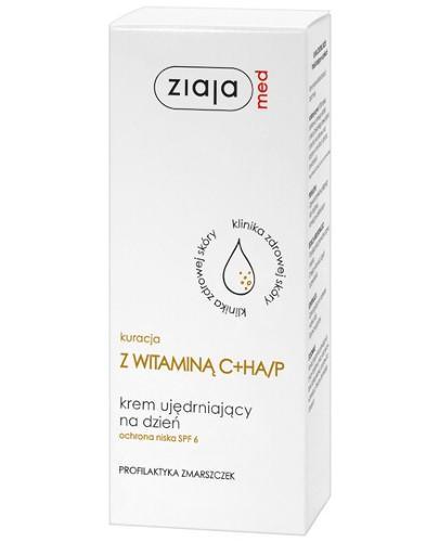 Ziaja Med kuracja z witaminą C + HA/P krem ujędrniający na dzień 50 ml