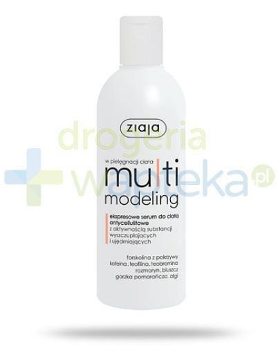 Ziaja MultiModeling serum do ciała antycellulitowe 270 ml  whited-out
