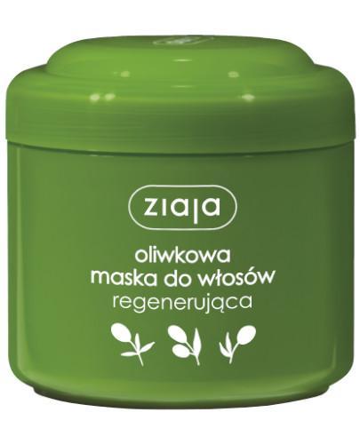 Ziaja Naturalna Oliwkowa maska do włosów regenerująca 200 ml