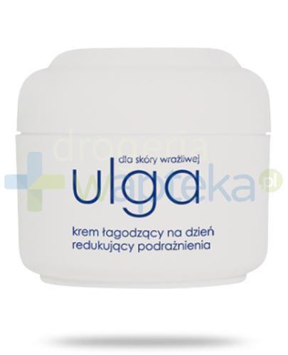 Ziaja Ulga dla skóry wrażliwej krem łagodzący na dzień redukujący podrażnienia SPF20 50 ml