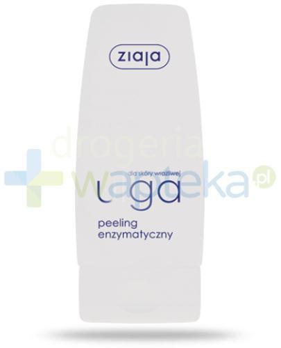 Ziaja Ulga dla skóry wrażliwej peeling enzymatyczny 60 ml